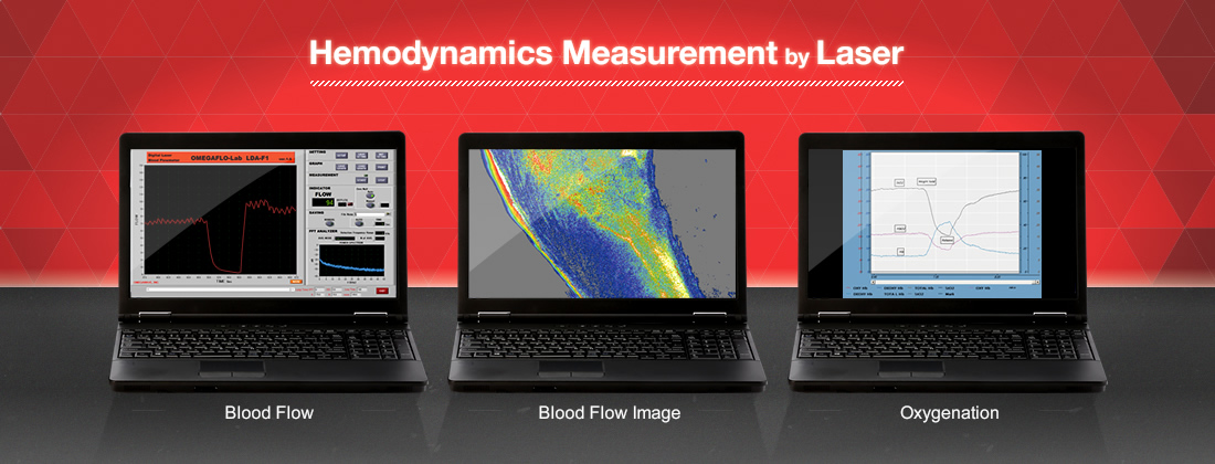 Hemodynamics Measurement by Laser